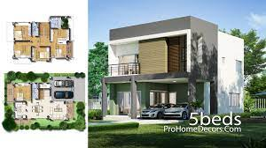 104 Housedesign House Design Plot 12x17 Meter With 5 Bedrooms Pro Home Decors