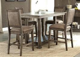 Bar Height Drop Leaf Table Counter Sets With Rustic