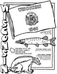 Wisconsin State Symbol Coloring Page By Crayola Print Or Color Online