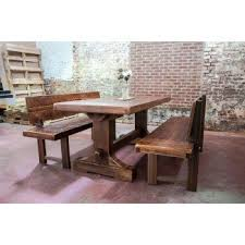 Dining Table With Bench Black Furniture