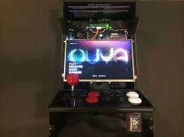 o cade portable ouya mini arcade cabinet with mobile charging