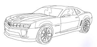 Gallery Of Bumblebee Car Drawing Transformers
