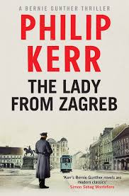 Lady From Zagreb Cover Seamlessly Blending Historical Fact With Thrilling Fiction