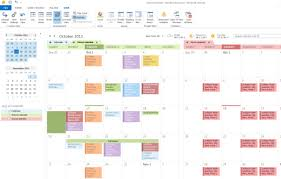 fice 365 Outlook 2013 View multiple calendars at the same time