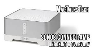Sonos Ceiling Speaker Recommendation by Sonos Connect Amp Wireless Hifi Player Unboxing U0026 Overview Youtube
