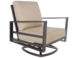 OW Lee Gios Aluminum Swivel Rocker Club Chair | OW4535SR