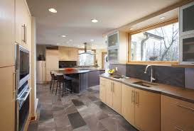 flooring cool kitchen floor tiles with exposed beams and light