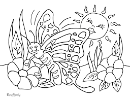 Butterfly Coloring Pages Pdf Free For Kids In Within