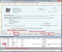 Easy to Use Check Writing and Printing Software Free fer Available