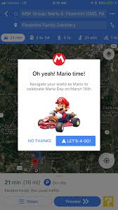 Drive As Mario On Google Maps For Mar10 Day! | Fiorentini Family ... Rfb Gets On Google Maps Rupp Family Builders Gift Ideas For Your Favorite Truck Driver Garbage Trucks On Part 6 Youtube Updated Rapes And Robs Woman In Back Of Cab Sunset Park Sarahs C10 Naperville Classic Towing 1680 Quincy Ave Il 60540 Https 10 Elegant Mode All Maps Old Truck Rodeo Drive Google Maps Men And Beer Source Eye Story Pinterest Illinois Auto Shipping Vehicle Transport Near Me State Wide Googles Autonomous Cars Starting To Raise Doubts Dcged