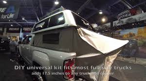100 Canvas Truck Cap Camp In Your Truck Bed Topper Ez Lift