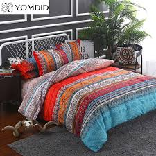 Bohemian bedding sets 3 4pcs Mandala duvet cover set Flat sheet