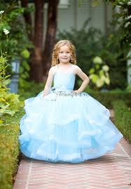 light blue flower dress birthday holiday party dress