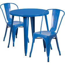 Amazon.com: Flash Furniture 30'' Round Blue Metal Indoor-Outdoor ... Greek Style Blue Table And Chairs Kos Dodecanese Islands Shabby Chic Kitchen Table Chairs Blue Ding Http Outdoor Restaurant With And Yellow Crete Stock Photos 24x48 Activity Set Yuycx00132recttblueegg Shop The Pagosa Springs Patio Collection On Lowescom Tables Amusing Ding Set 7 Piece 4 Kids Playset Intraspace Little Tikes Bright N Bold Free Shipping Balcony High Cushions Fniture Rst Brands Sol 3piece Bistro Setopbs3solbl The