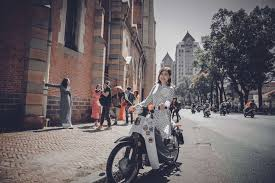 Bike Girl Motorbike Motorcycle People Scooter Street Vintage Woman Royalty Free Images 4k Wallpaper And Background