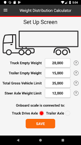 100 Truck Axle Weight Limits Semi Distribution Calculator For Android APK