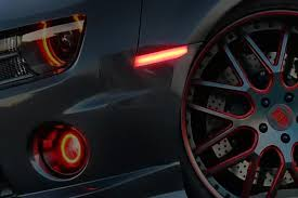Oracle Concept LED Side Markers Clear Ghosted Tinted