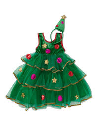 christmas tree fancy dress costume girls george at asda