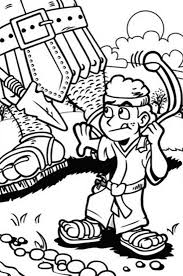 David And Goliath Coloring Pages For Kids Printable