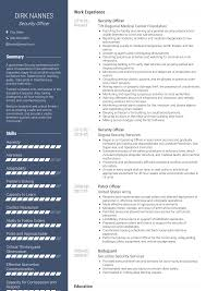 Security Officer - Resume Samples & Templates | VisualCV Security Officer Resume Duties Sample For Guard Rumes Best Example Livecareer And Complete Guide 20 Expert Examples By Real People Information Job Hospital Samples Free Marketing Luxury Ficer 12 Experienced Rn New Bishal Chhetri Images On