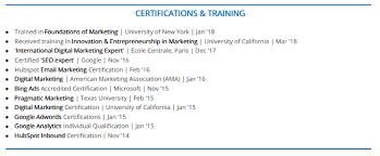 The 2018 Guide To Listing Certifications On A Resume