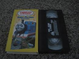 Thomas Friends Sing Along Stories VHS 1997