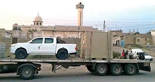 U.S. Sends Dozens Of Toyota Pickups In Fight Against ISIS | Medium ... 1986 Chevy K30 Alabama Army Truck Part 2 Roadkill Military Trucks From The Dodge Wc To Gm Lssv Photo Image Gallery The Toyota Pickup Is War Chariot Of Third World What Is Best Discount On A F150 In Raleigh Jeep History 1960s Free Images Coffee Army Food Truck Armoured Vehicle Display Chevrolet Pressroom United States 7 Used Vehicles You Can Buy Drive 1984 M1008 Pick Up 6 2l Detroit 4x4 From Landmark Ford East 2018 Favorite Tacoma Pickup Beloing Us Special Forces