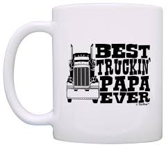 Grandpa Gifts Best Truckin' Papa Ever Truck Driver Coffee Mug Tea ... Truck Life Is Rough Mug Gift For Truck Driver Funny Set Of 4 Drink Glasses Truckers Cb Radio Life Is Full Of Risks Driver Quotes Gift Basket A Or Boyfriend All The Essentials Trucker Embroidered Toilet Paper Trucker Mug 11oz 15 Oz Doublesided Print My Teacher Was Wrong Shirtalottee Ideas Your Favorite The Perfect For A Royalty Free Cliparts Vectors Key Ring Semi Usa Shirt Gifts Tshirt Women Only Strongest Become