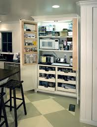Small Kitchen Storage Ideas With Green And White