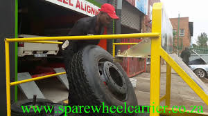 100 Semi Truck Spare Tire Carrier Spare Wheel Carrier Easy Off And On