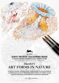Artforms In Nature Haeckel A3 Kunstler Malbucher Giant Artists Colouring Book Amazon