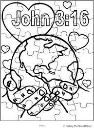 God So Loved The World Activity Sheet Sheets Are A Great Way To