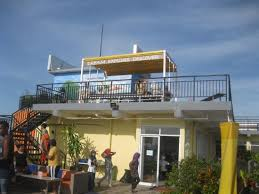 EDU Hostel Jogja Kondisi Rooftop