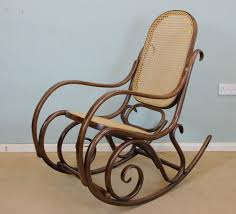 Vintage Bentwood Rocking Chair - 10791 / LA77922 | LoveAntiques.com