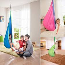 Hanging Chair Indoor Ebay by Kids Child Pod Swing Chair Hammock Tent Indoor Outdoor Hanging