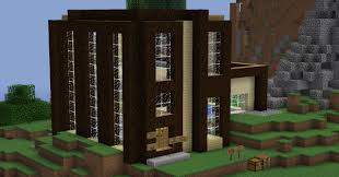 100 Modern Wooden Houses Modern House Minecraft Project