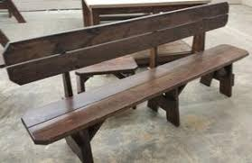 picnic table and bench pricing
