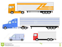 Truck, Van Icon. Delivery Trucks. Stock Vector - Illustration Of ...