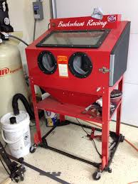 harbor freight blasting cabinet restorations modifications