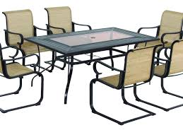 patio 58 patio dining sets 206186931 oak heights 7 piece