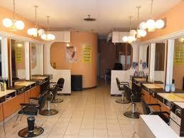 Interior Nail Salon Design Layout Modern Barber Shop Designs Small