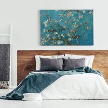 canvas print gogh almond blossom
