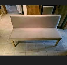 sitzgruppe sitzbank stühle stuhl esszimmer beige