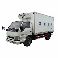 100 One Ton Truck Hot Sale Low Price 1 4x2 Food Transport Jmc Small Refrigerated