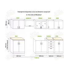 cuisine en kit impressionnant meuble de cuisine en kit pas cher décoration