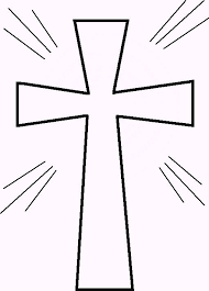 Print This Free Cross Coloring Page Or Pattern For Your Next Project Template