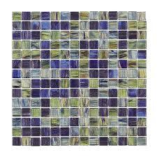 jeffrey court vineyard 12 in x 12 in x 4 mm glass mosaic wall