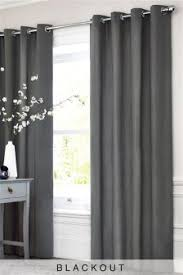 curtains and blinds curtains grey eyelet next usa