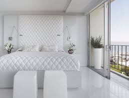 white bedroom ideas with colour white tile flooring brown