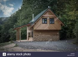 100 House In Forest Wood House In Forest Stock Photo 170934892 Alamy